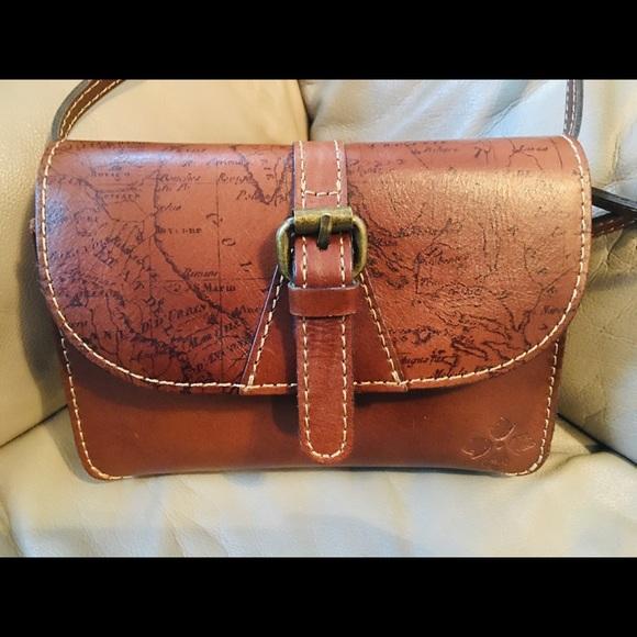 Patricia Nash body bag new with $75 bcbg Jewerly